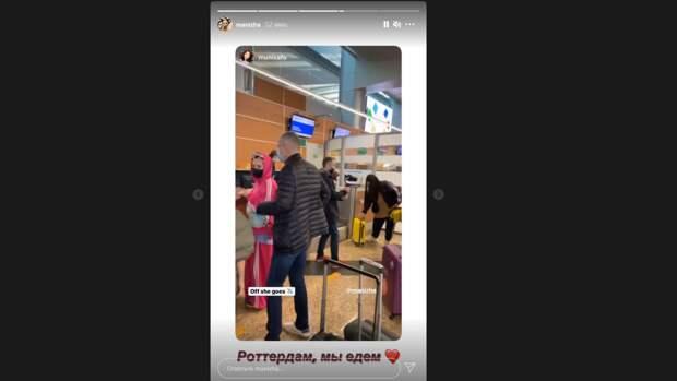 Манижа отправилась в Роттердам на подготовку к Евровидению