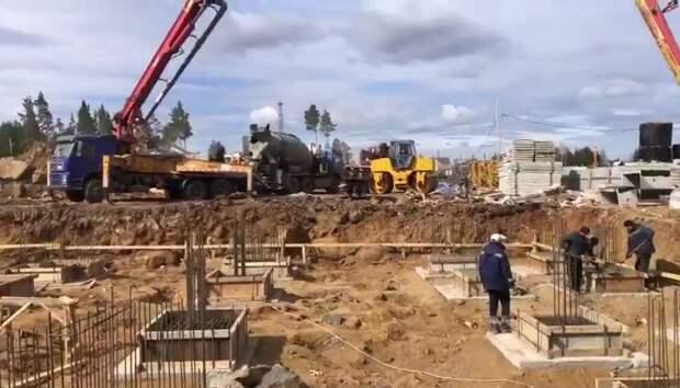 В микрорайоне Угольщиков в Тулуне начали строить вторую очередь высоток