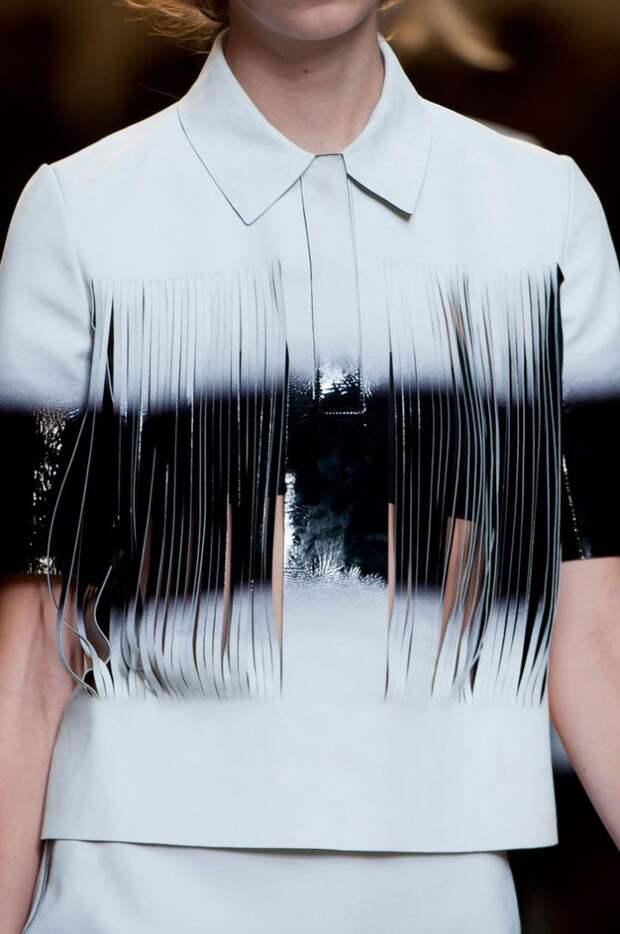 Если у вас есть рубашка из кожи..