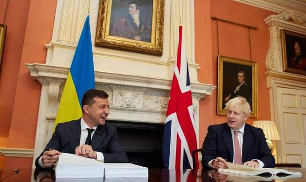 Про особенности британско-украинской дружбы