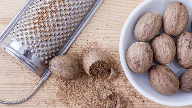 Мускатный орех может оказывать положительное влияние на работу мозга
