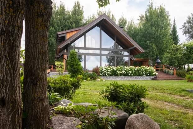 дом в современном стиле интерьер