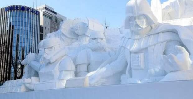 Снежные персонажи «Звёздных войн»
