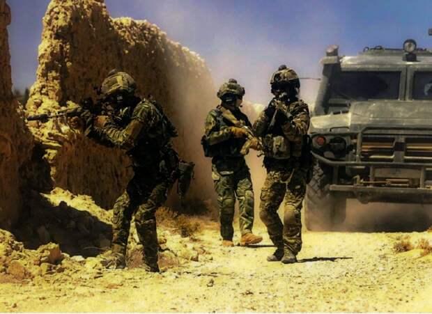 Военнослужащий спецназа ГРУ РФ погиб в Сирии при невыясненных обстоятельствах
