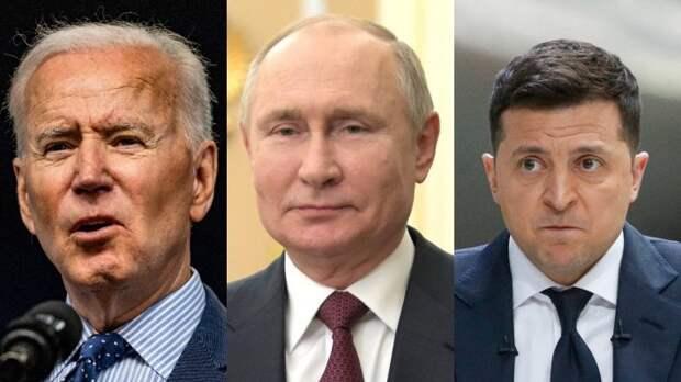 В США предрекли разгром Украины после встречи Путина и Байдена..