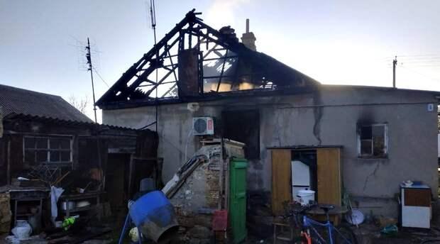Крымчанин поджег дом своих родных и покончил с собой