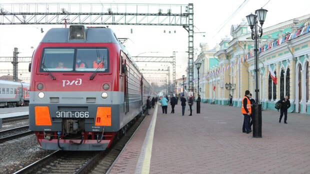 Первые поезда отравляются из Иркутска и Северобайкальска на курорты Черноморского побережья