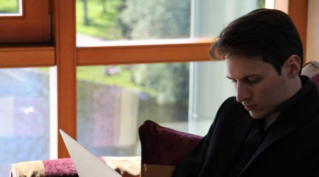 Открылась вакансия личного помощника Павла Дурова. Требования не заоблачные