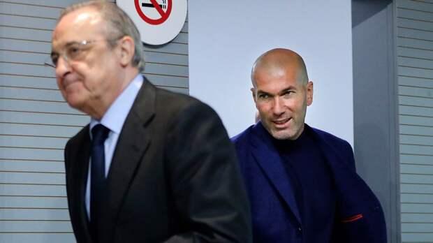 В Испании сообщили, что Зидан покинет «Реал». Его место займет Аллегри