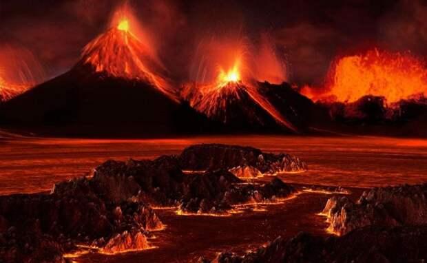 """Ученые озабочены пробуждением """"вулкана из ада"""" в Европе"""
