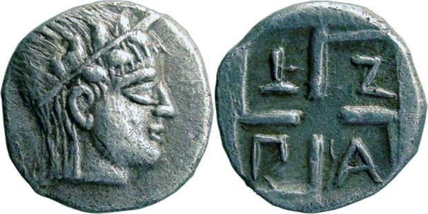 Диабол-серебро-460г. до н.э.-Аполлон -ПАNT