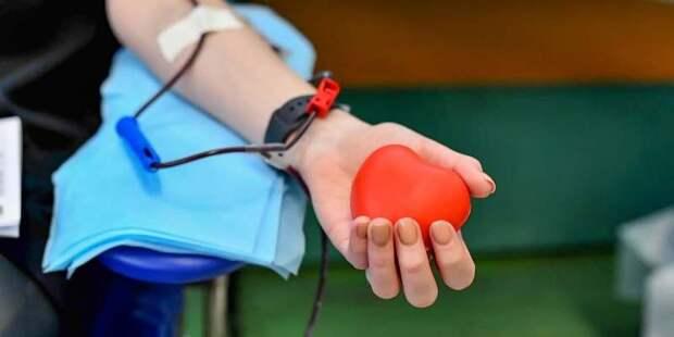 Более 85 тысяч человек удалось привлечь к донорству в Москве в прошлом году