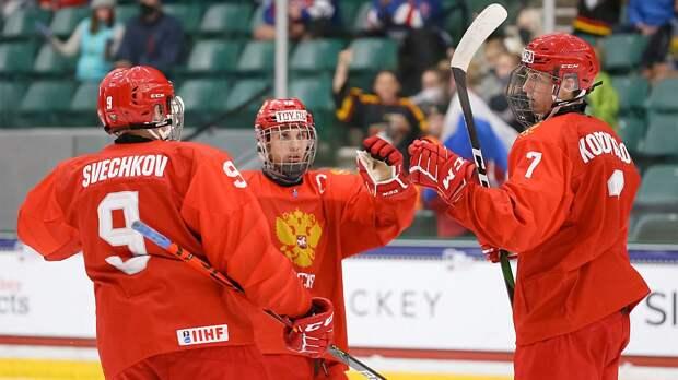 Стали известны соперники по группе сборной России на юниорском чемпионате мира — 2022