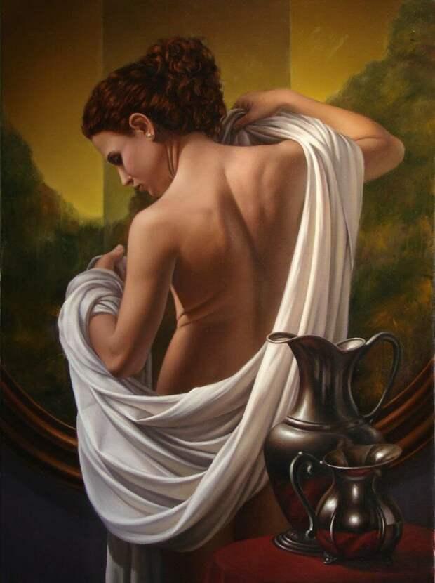 Мигель Анхель Аватанео — нежные девушки на картинах маэстро