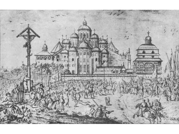 По «Вечному миру» 6 мая 1686 года поляки продали Киев России за 146 тысяч рублей