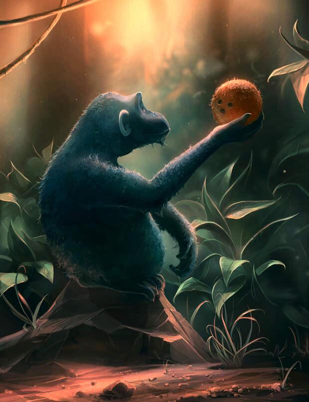 Территория фантазии: иллюстрации Кирилла Роландо