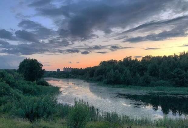 Фото дня: уходящее лето на Долгих прудах