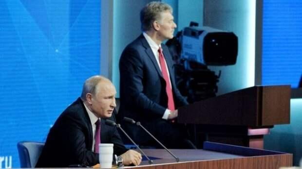 Песков рассказал о работе с президентом