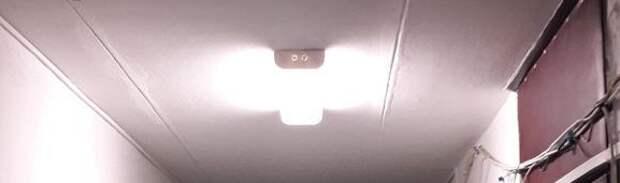 Тусклый светильник заставлял бродить в потемках жителей дома на Шоссейной