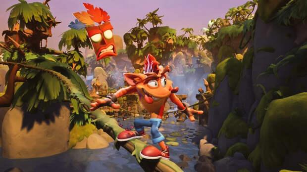 Crash Bandicoot возвращается