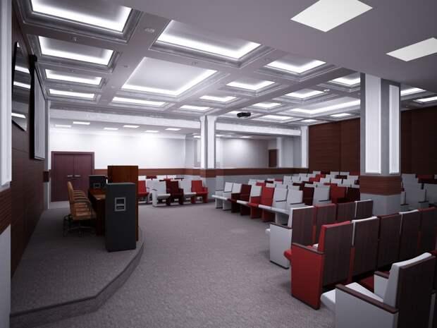 Архитекторы представили проект внутренней реконструкции нацбиблиотеки Удмуртии