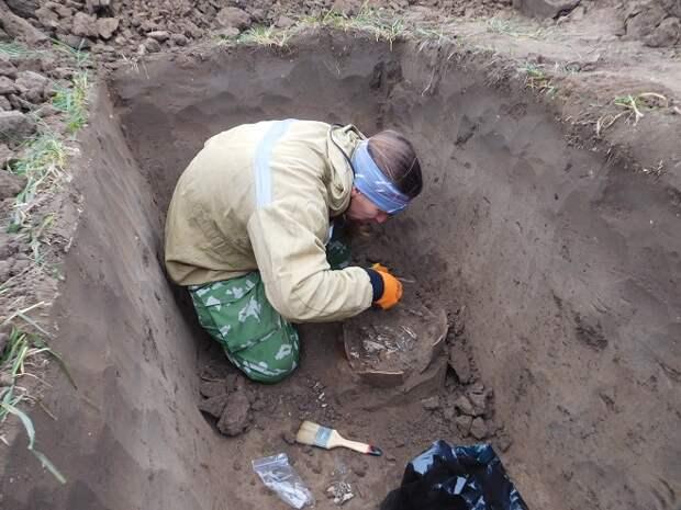 На Кубани нашли могилу средневекового воина