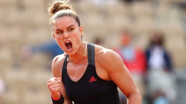 Саккари разгромила Кенин и вышла в четвертьфинал «Ролан Гаррос»