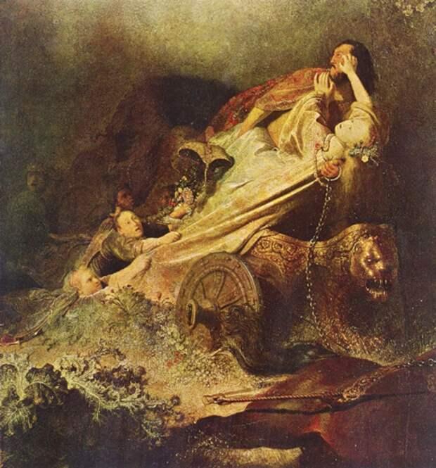 Рембрандт, Похищение Персефоны Аидом