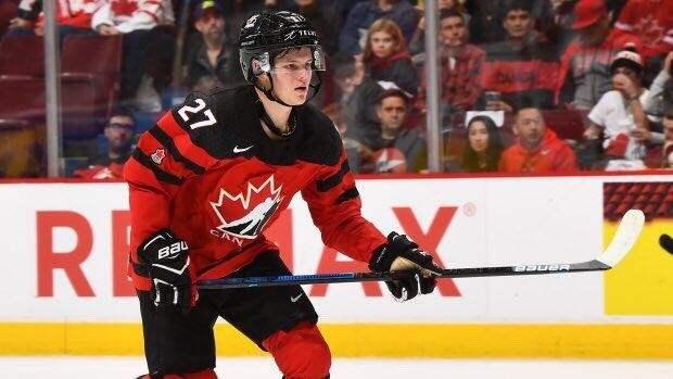 Капитан сборной Канады извинился засвое поведение вовремя исполнения национального гимна России