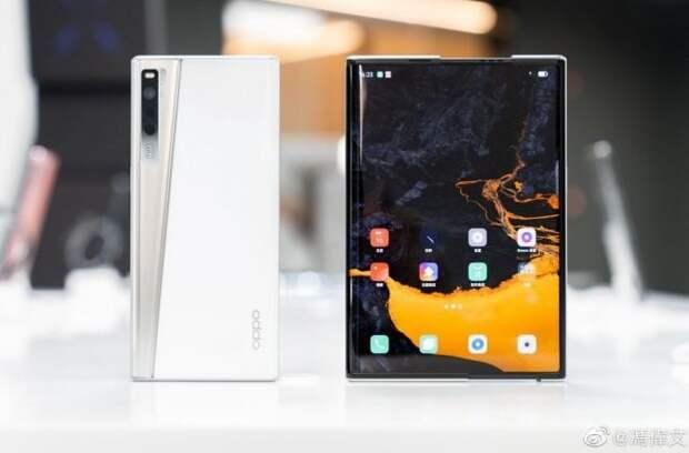 OPPO анонсировала смартфон OPPO X 2021 с растягивающимся экраном