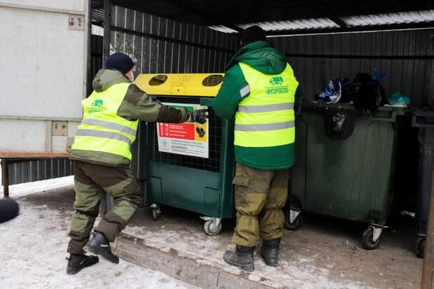 В Ижевске идёт вторая волна установки контейнеров для раздельного сбора отходов