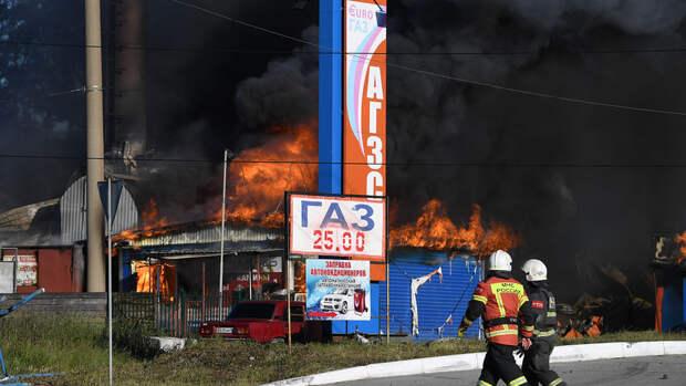 Число пострадавших при пожаре в Новосибирске продолжает расти