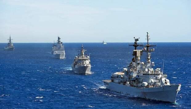 вражеские корабли НАТО