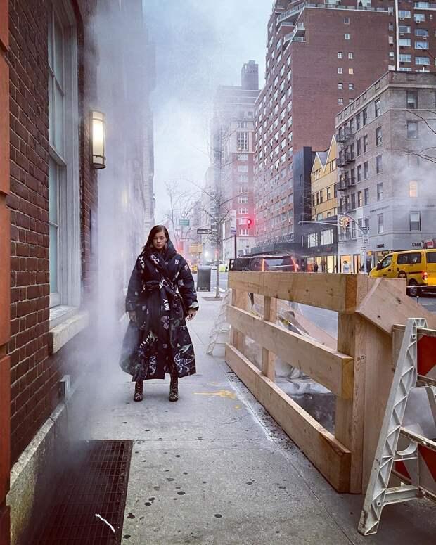 Катерину Шпицу восхитили жители Нью-Йорка