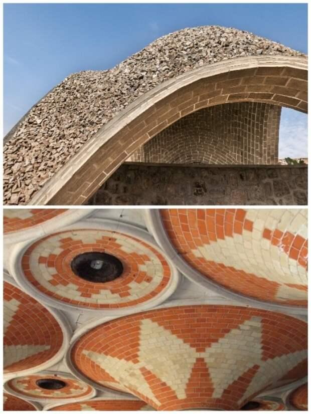 Благодаря современным строительным материалам сводчатые потолки могут иметь невероятные архитектурные формы.   Фото: kamtehnopark.ru.