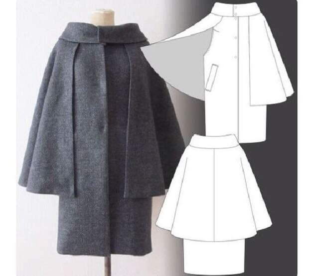 Простые идеи для шитья, или Как легко украсить себя осенью. Часть 3, фото № 20