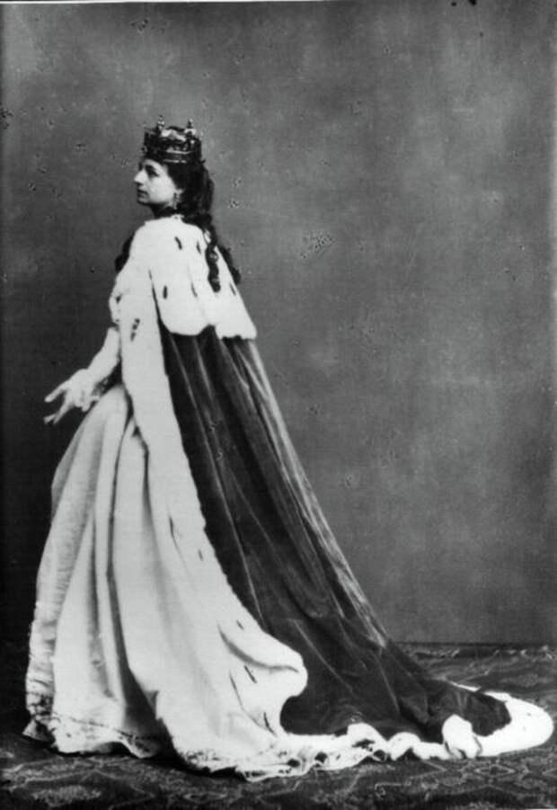 Актриса Хелена Моджеевская в образе Ядвиги. <br>