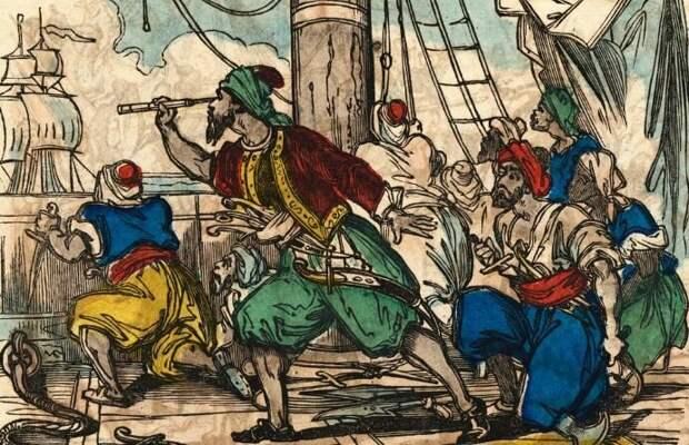 Турецкие пираты - гроза Средиземного моря