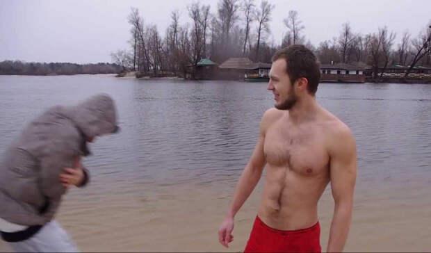 Начинаем плавать в холодной воде