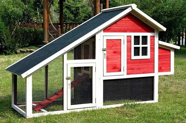 Оригинальные курятники, в которых курицы будут чувствовать себя как дома