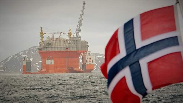 Геологоразведку нашельфе сокращает Норвегия