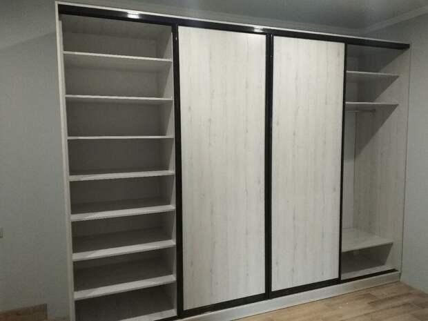 Стильные и функциональные шкафы купе. Теперь новой формы