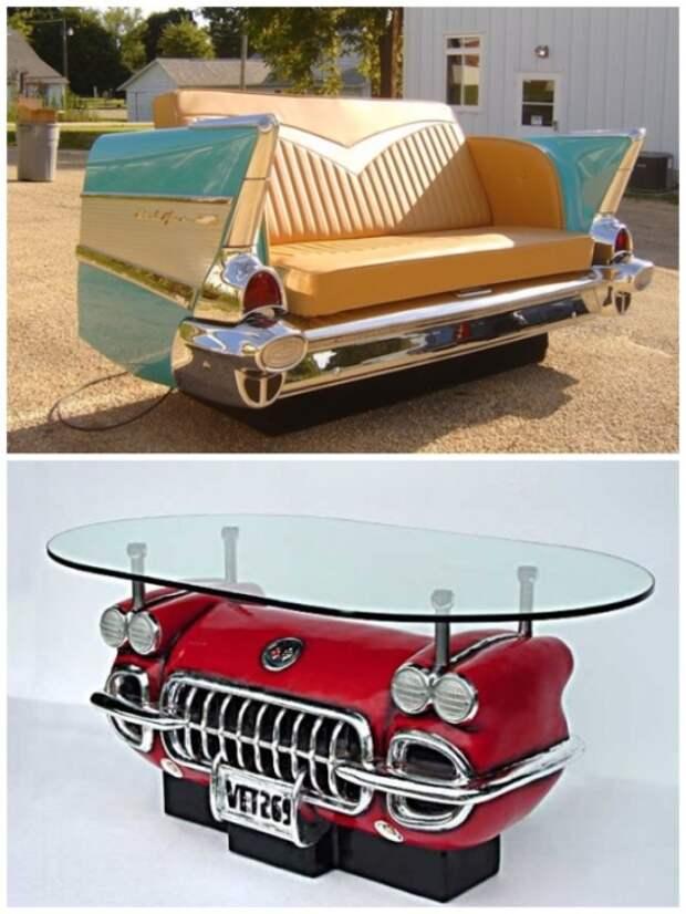 Со старого автомобиля тоже можно создать настоящие шедевры. | Фото: yandex.kz.