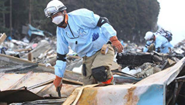 Последствия землетрясения в Японии. Архивное фото