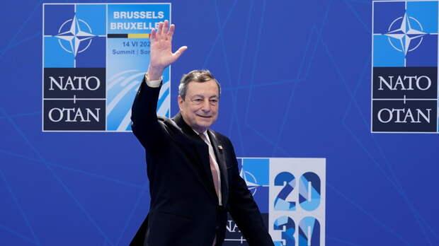 Драги выразил мнение об укреплении сотрудничества НАТО и ЕС