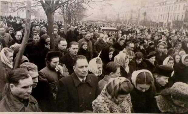 Смерть Сталина. Реакция простых советских людей