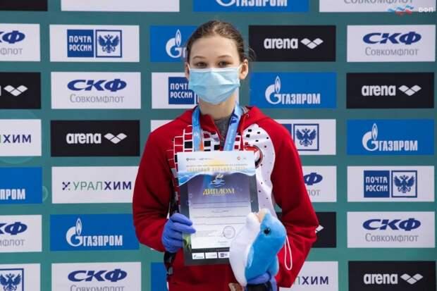 Юная пловчиха из Удмуртии взяла золото на всероссийских соревнованиях