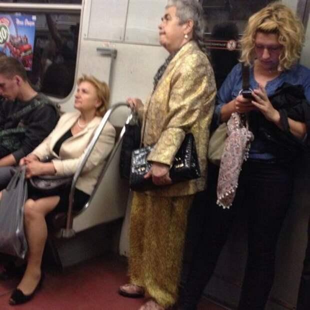 Чудные пассажиры из метро