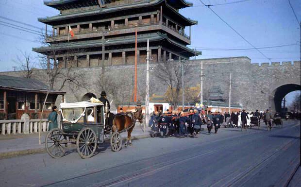 Пекин 1947 года в цвете: на изломе эпох