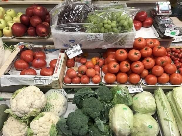 В России выросли цены на овощи